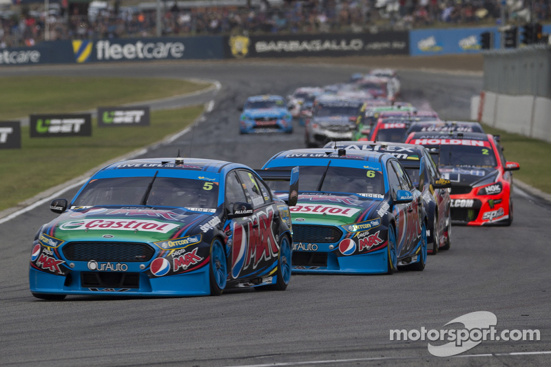 Марк Вінтерботтом та Чез Мостерт, Prodrive Racing Australia Fords
