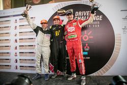 Podium: Ricardo Dasso, 1. Nelson Piquet jr. und Nicolas Fuchs