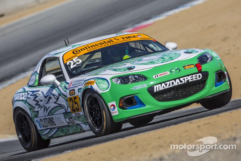 #25 Freedom Autosport, Mazda MX-5: Britt Casey jr., Tom Long