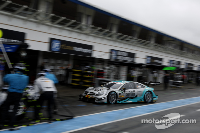 Boxenstopp für Daniel Juncadella, Mücke Motorsport, Mercedes-AMG C63 DTM