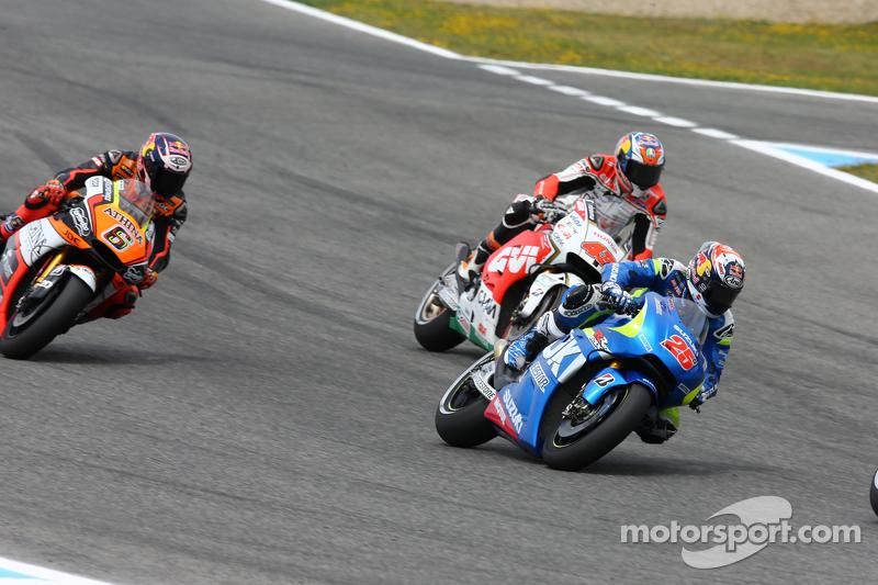 Maverick Viñales, Suzuki MotoGP Takımı ve Jack Miller, LCR Honda Takımı ve Loris Baz, Forward Racing