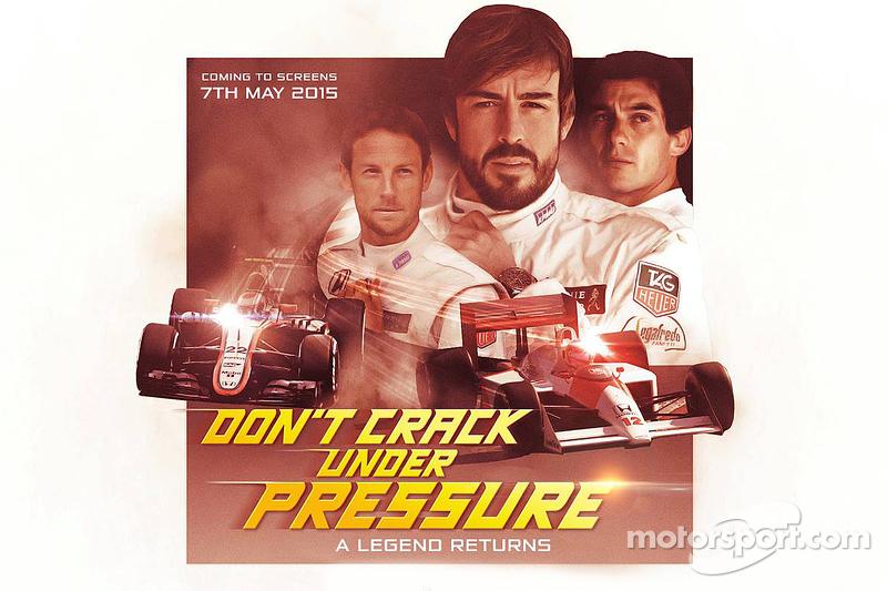 McLaren ліврея постер