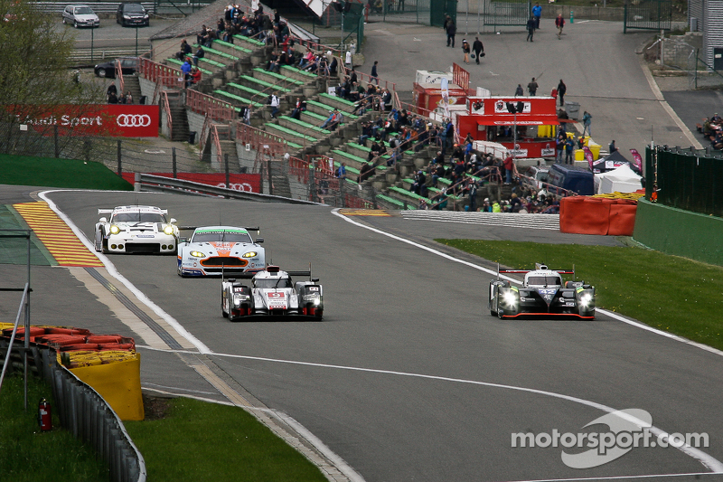 #9 奥迪运动车队,奥迪R18 e-tron quattro Hybrid: Filipe Albuquerque, Marco Bonanomi, René Rast