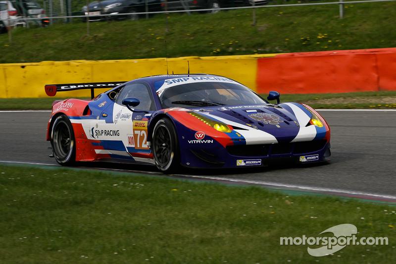 #72 SMP Racing,法拉利F458 Italia: Victor Shaitar, Andrea Bertolini, Aleksey Basov