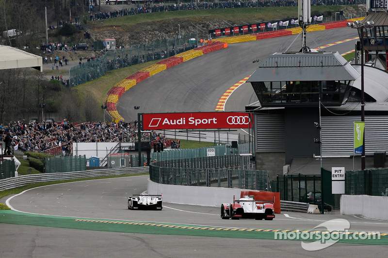 Porsche Team, Porsche 919 Hybrid, und Audi Sport Team Joest, Audi R18 e-tron quattro Hybrid