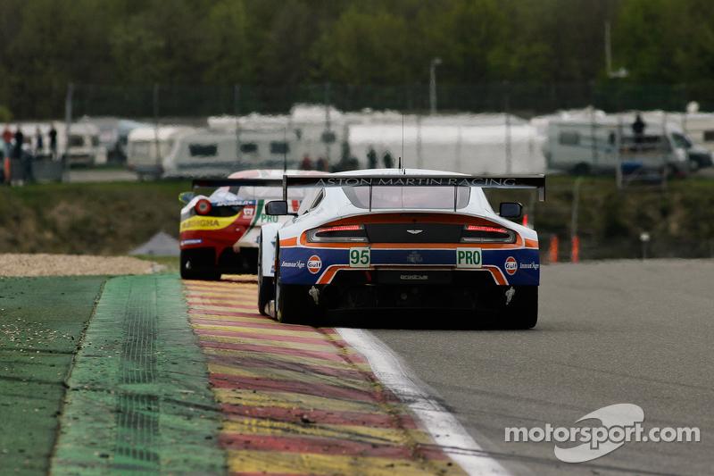 #95 Aston Martin Racing, Aston Martin Vantage V8: Christoffer Nygaard, Marco Sørensen, Jonny Adam