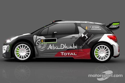 Презентация ливреи Citroen DS3 WRC перед Ралли Португалия