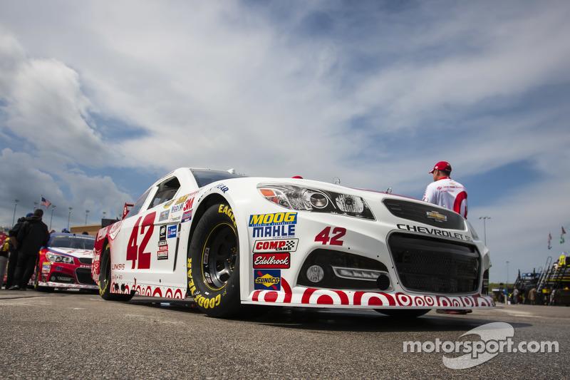 Das Auto von Kyle Larson, Ganassi Racing, Chevrolet