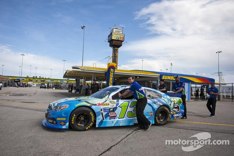 Das Auto von Casey Mears, Germain Racing, Chevrolet