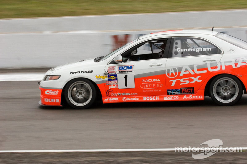 Peter Cunningham 1 Acura TSX At Mosport