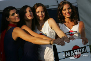 Martini girls photoshoot