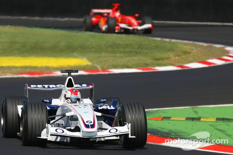 7. Роберт Кубица – третье место на Гран При Италии 2006 года
