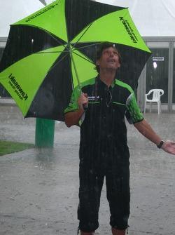 Heavy rain at Sepang