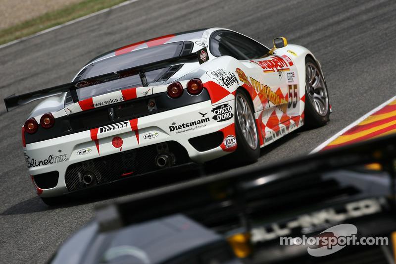 #55 JMB Racing Ferrari 430 GT2: Tim Sugden, Iradj Alexander-David