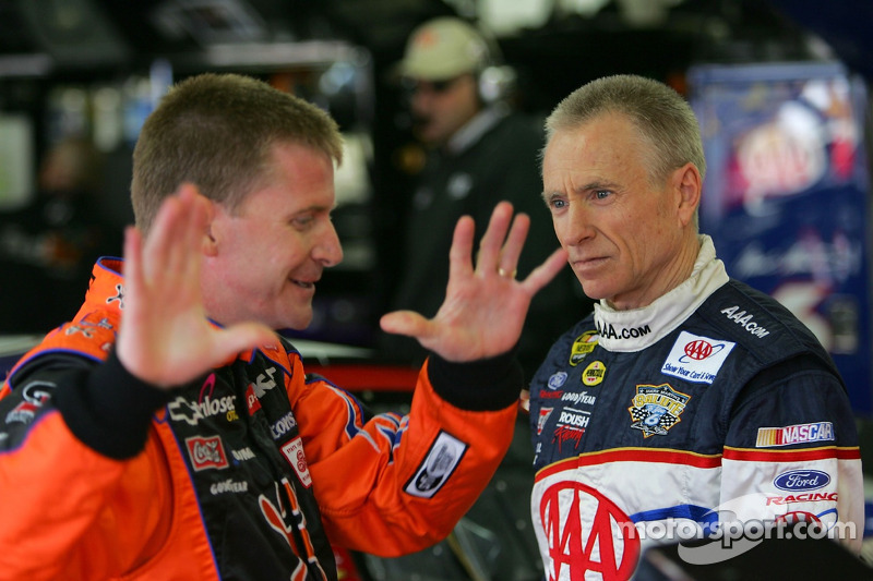 Jeff Burton y Mark Martin