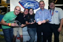 Third place team with Marino Franchitti, Tim Mayer and Landon Thomas