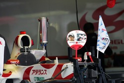 Super Aguri F1 Team prepare for the big race