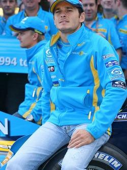 Mild Seven farewell to F1 team photoshoot: Giancarlo Fisichella