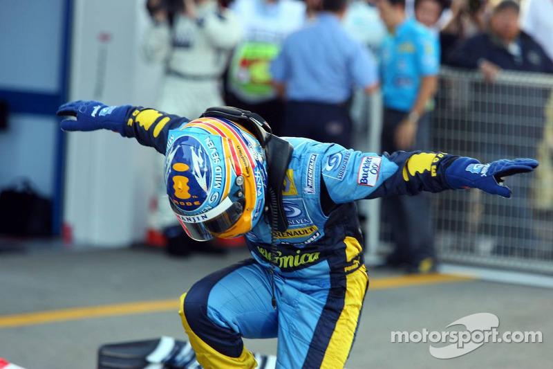 Japon 2006 : Alonso deviendra ensuite double Champion du Monde au Brésil