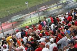 Talladega fans cheer