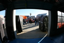 A view from the garage