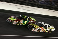 Kevin Harvick and Kyle Busch
