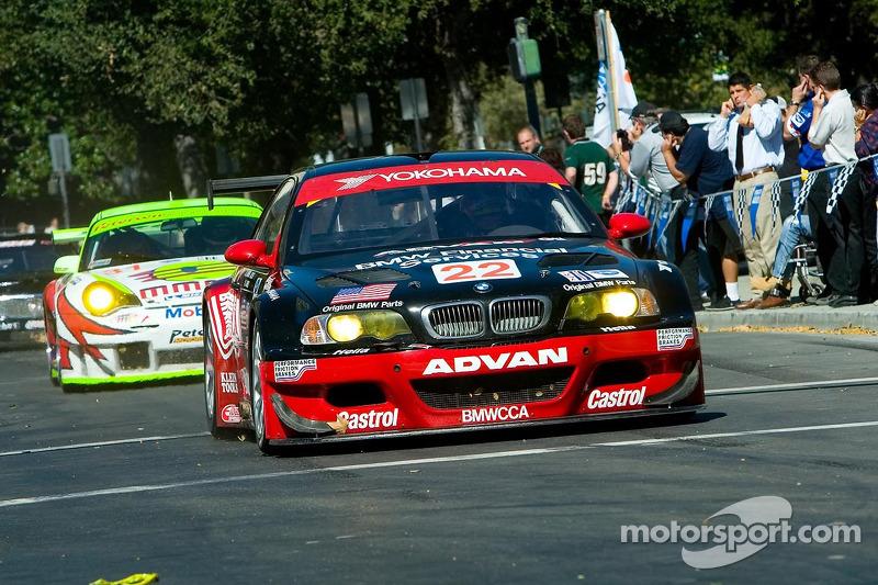 Joey Hand dans la BMW M3