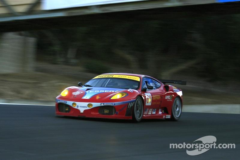 La Risi Competizione Ferrari 430 GT Berlinetta n°61 : Andrea Bertolini, Maurizio Mediani