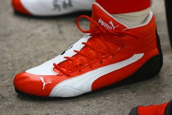 Michael Schumacher race boot