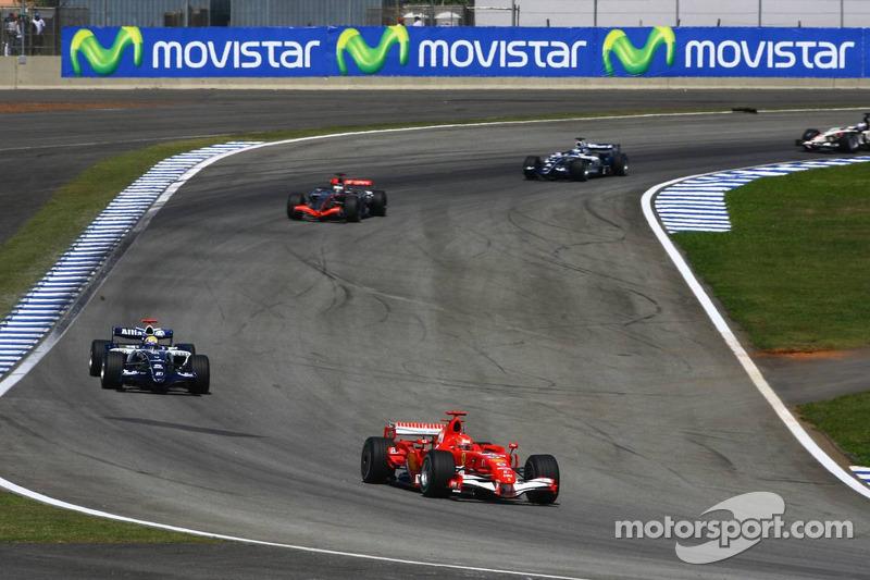 Tour de décélération : Michael Schumacher