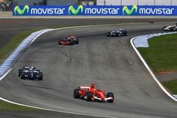Pace lap: Michael Schumacher