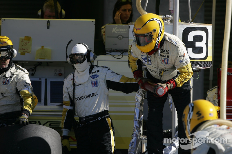 L'équipe de la Corvette Racing n°3