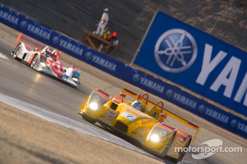 Porsche RS Spyder : Lucas Luhr, Romain Dumas