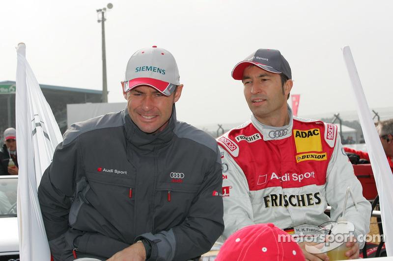 Tom Kristensen et Heinz-Harald Frentzen