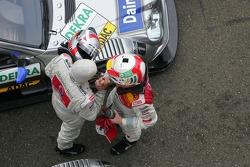 Bernd Schneider and Tom Kristensen