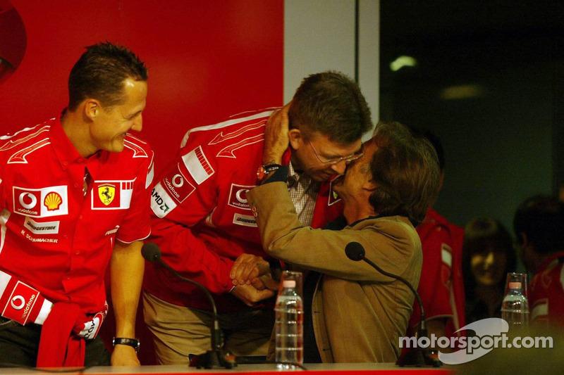 Conférence de presse : Michael Schumacher, Ross Brawn et Luca di Montezemolo