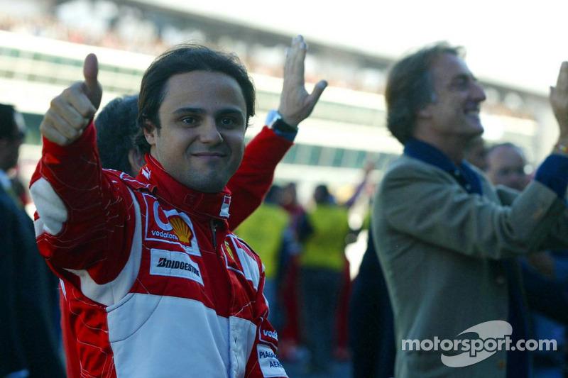 Felipe Massa et Luca di Montezemolo