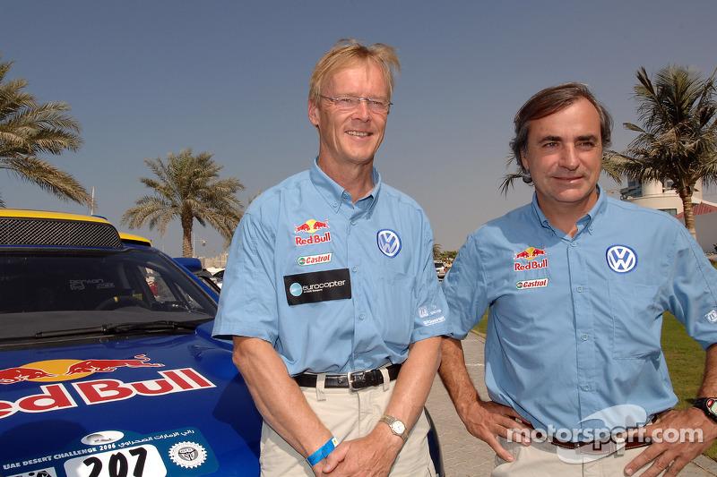 Ari Vatanen et Carlos Sainz