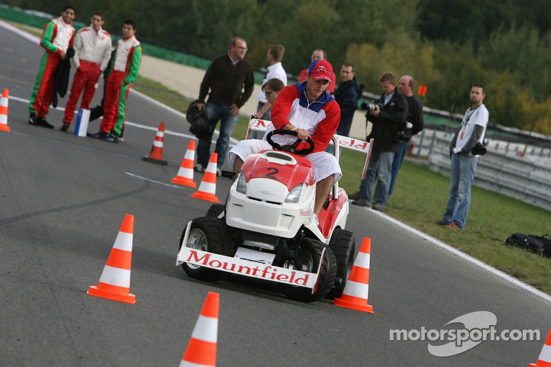 Journée des RP, Mountfield Cup on Tractors : Vainqueur, Tomas Kostka
