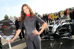 Grid Girl of Johnny Reid