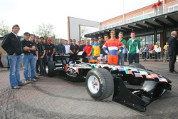 A1GP Drivers in Amsterdam