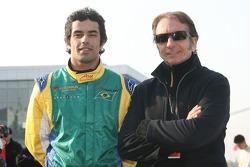Raphael Matos und Emerson Fittipaldi
