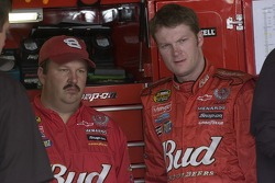 Tony Eury Jr. and Dale Earnhardt Jr.