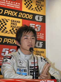 Press conference: Kohei Hirate