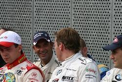 WTCC drivers group picture: Jorg Muller, Duncan Huisman