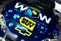 Detail of the Best Buy Chevy