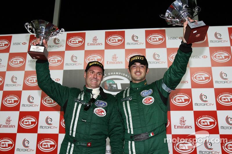 G2 podium: class winners Luca Pirri and Toni Seiler