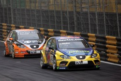 Yvan Muller and Tom Coronel