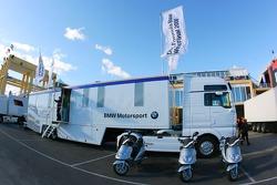 BMW Motorsport transporter