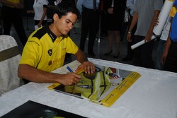 Proton factory visit: Alex Yoong signs autographs at the Proton factory